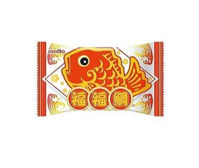 Meito Taiyaki Lucky Chocolate Wafer (16.5G)