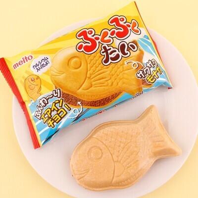 Meito Taiyaki Chocolate Wafer (16.5G)