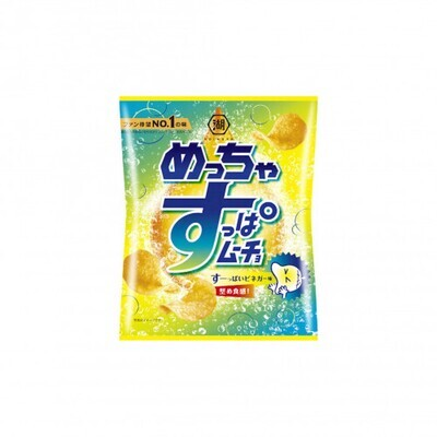 Koikeya Potato Chips Muncho Sour Vinegar (60G)