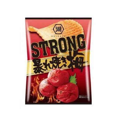 Koikeya Strong Potato Chips Grilled Plum (56G)