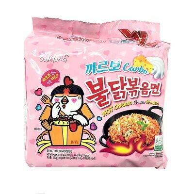 Samyang Buldak Carbo Hot Chicken Flavour Ramen