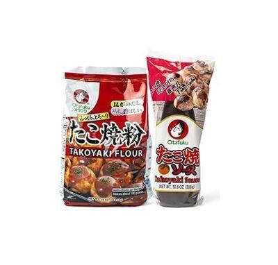 Japanese Takoyaki Combo