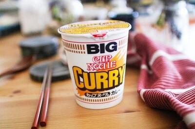 Nissin Big Cup Noodle Curry Flavour (120G)