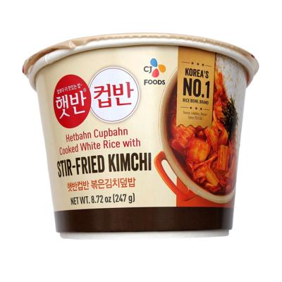 CJ Cupbahn Stir-Fried Kimchi (247G)