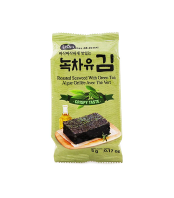 CRD Roasted Seaweed with Green Tea (5G)