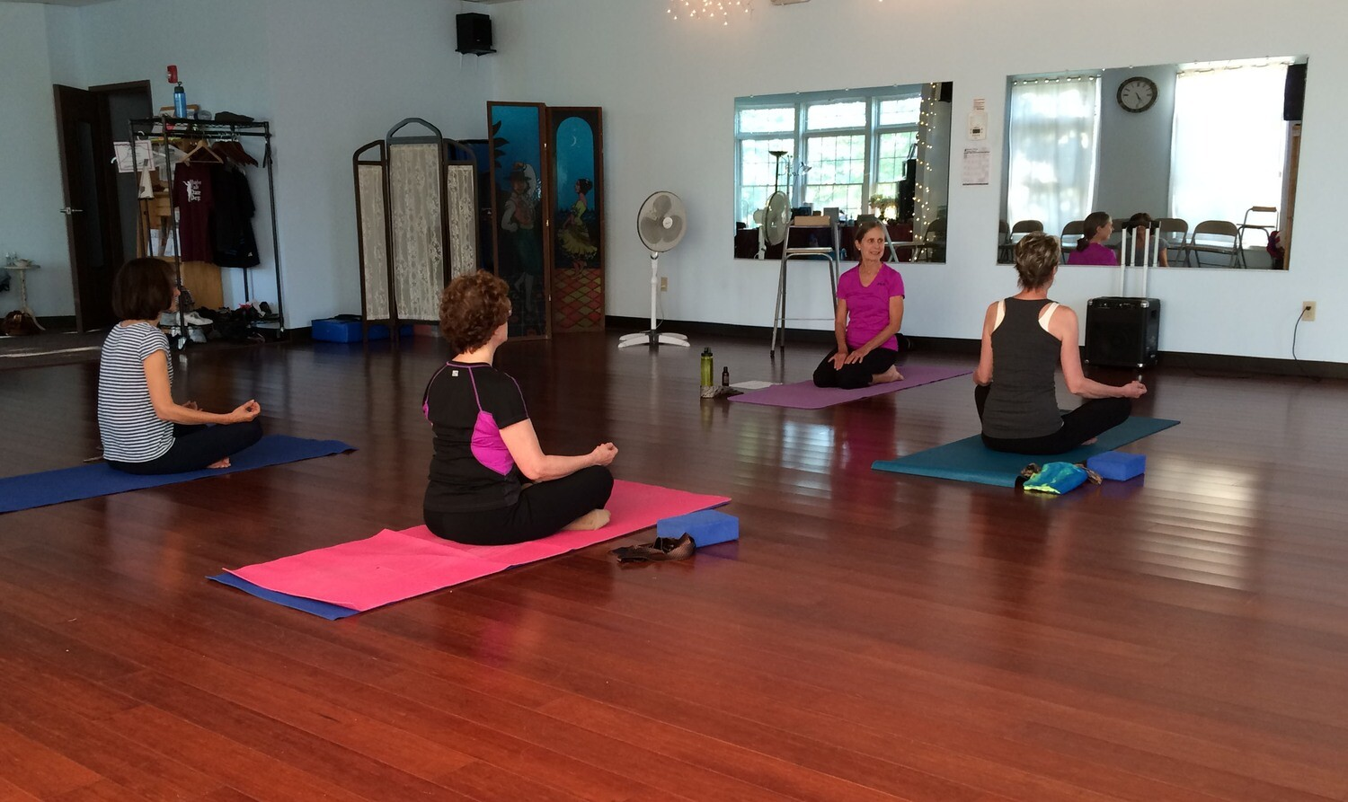 Gentle Yoga with Jan, 6 consecutive weeks, Sundays 5:00 - 6:15, Starting March 22nd