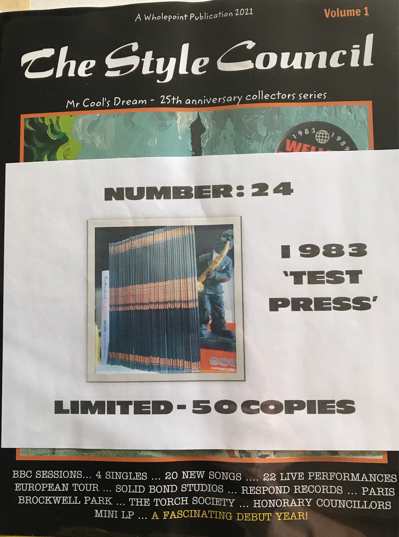 1983: TEST PRESS. Number 40 (of 50)