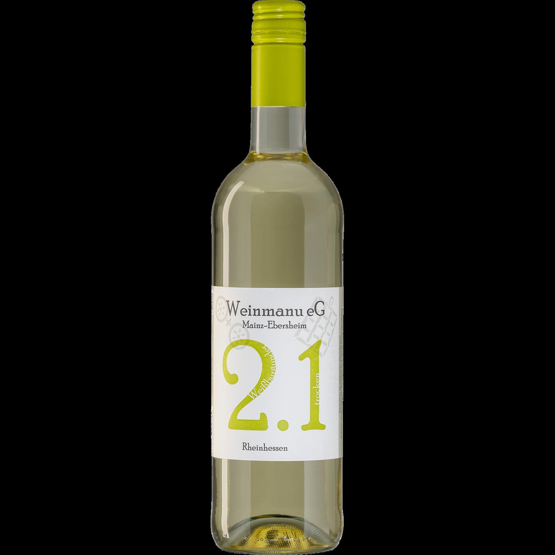 2.1 2019er Weißburgunder trocken 0,75 L