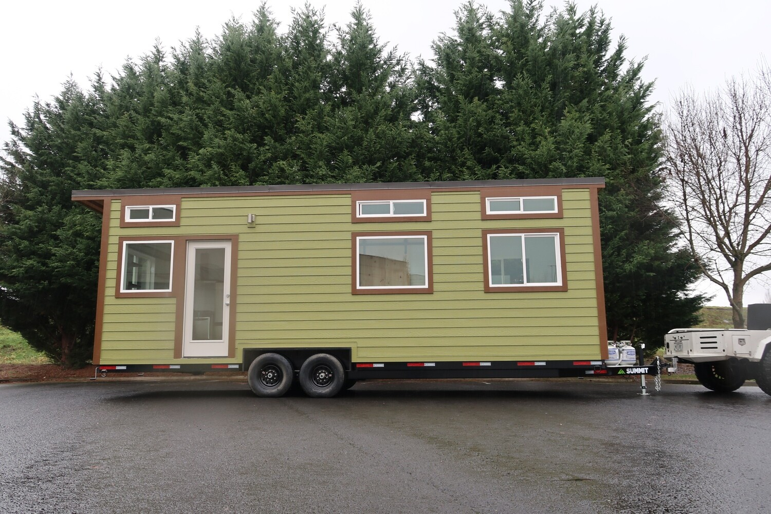 28' Strawberry Tiny Home Plans and Materials List