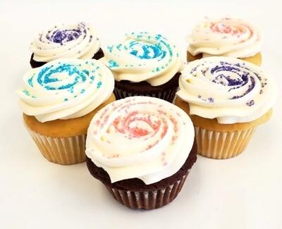 Sugar Crystals Cupcakes (Egg & Dairy-Free)
