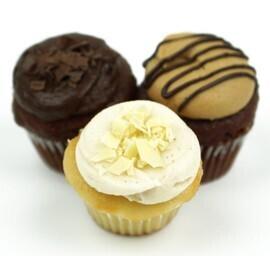 Mini Decadent Café Cupcakes