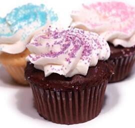 Sugar Crystals Cupcakes