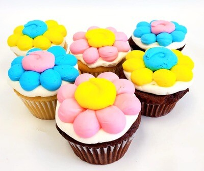 Daisy Cupcakes(Egg & Dairy-Free)