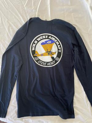 Airplane long-sleeve, navy