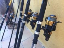 Carp Fishing Rods for Hire per week