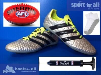 Sport for All - Get Active Kids Voucher Program $50 Sports Kit (AFL Football - Red) (EC1072)