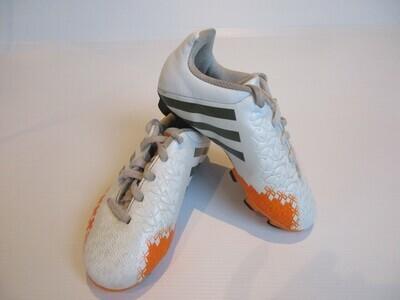 Adidas Predator Football Boots US12 Jnr UK11.5 Jnr (Near-New) (EC196)