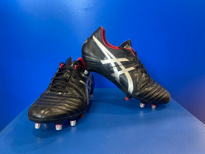 Asics Lethal five Rugby football boot US 10 (Near New )(P500Y) (EC1641)