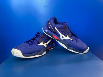 Mizuno Tennis  shoes wave intense 5 US9.5 (Near New ) (EC1646)