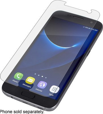 ZAGG - InvisibleShield HD Screen Protector for Samsung Galaxy S7 edge