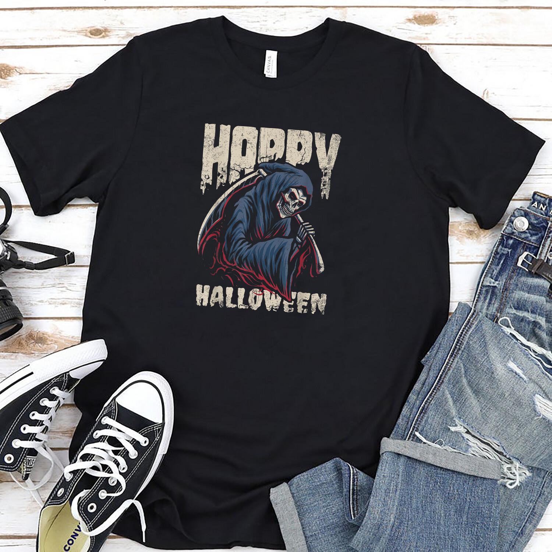 Happy Halloween Grim Reaper Shirt Masswerks Store