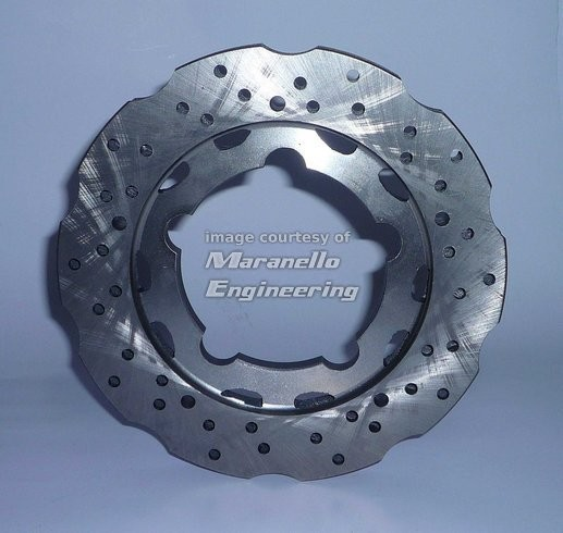 Rear Brake Disc 195X18 mm Self-ventilated Floating