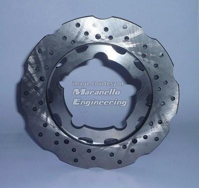 Rear Brake Disc 195X18 mm Self-ventilated Floating