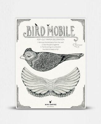 Pop out card Bird