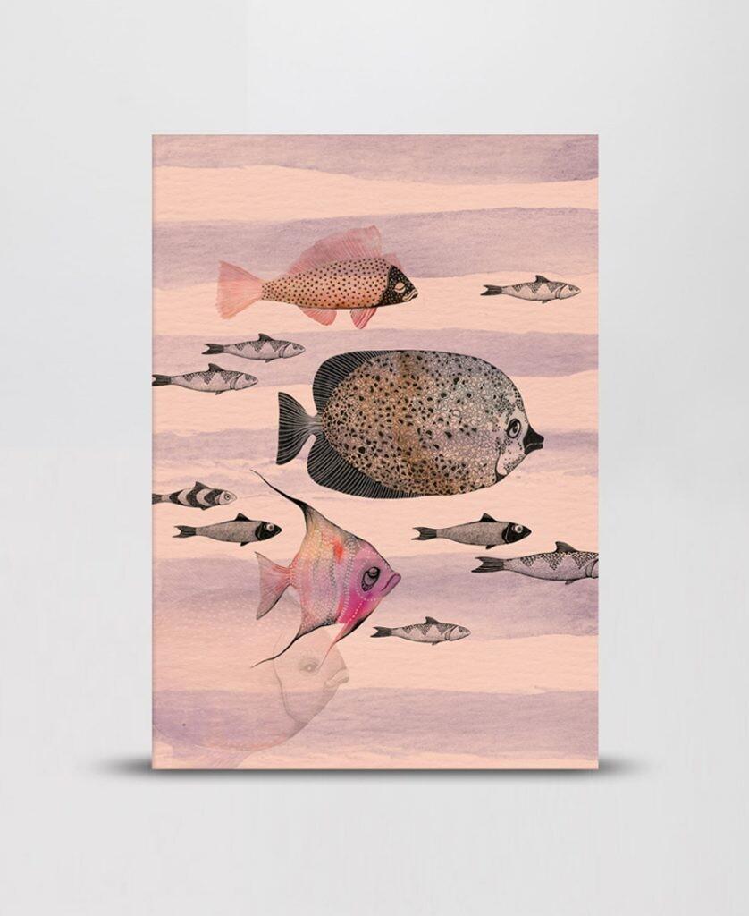 Notebook Deep sea pink