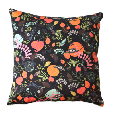 Cushion cover Forest night