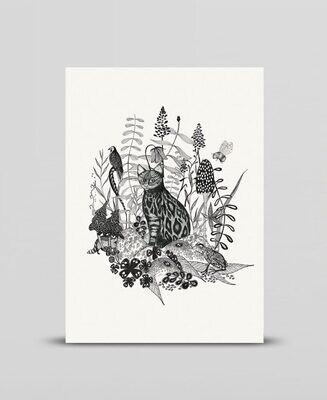 Mini print In the field