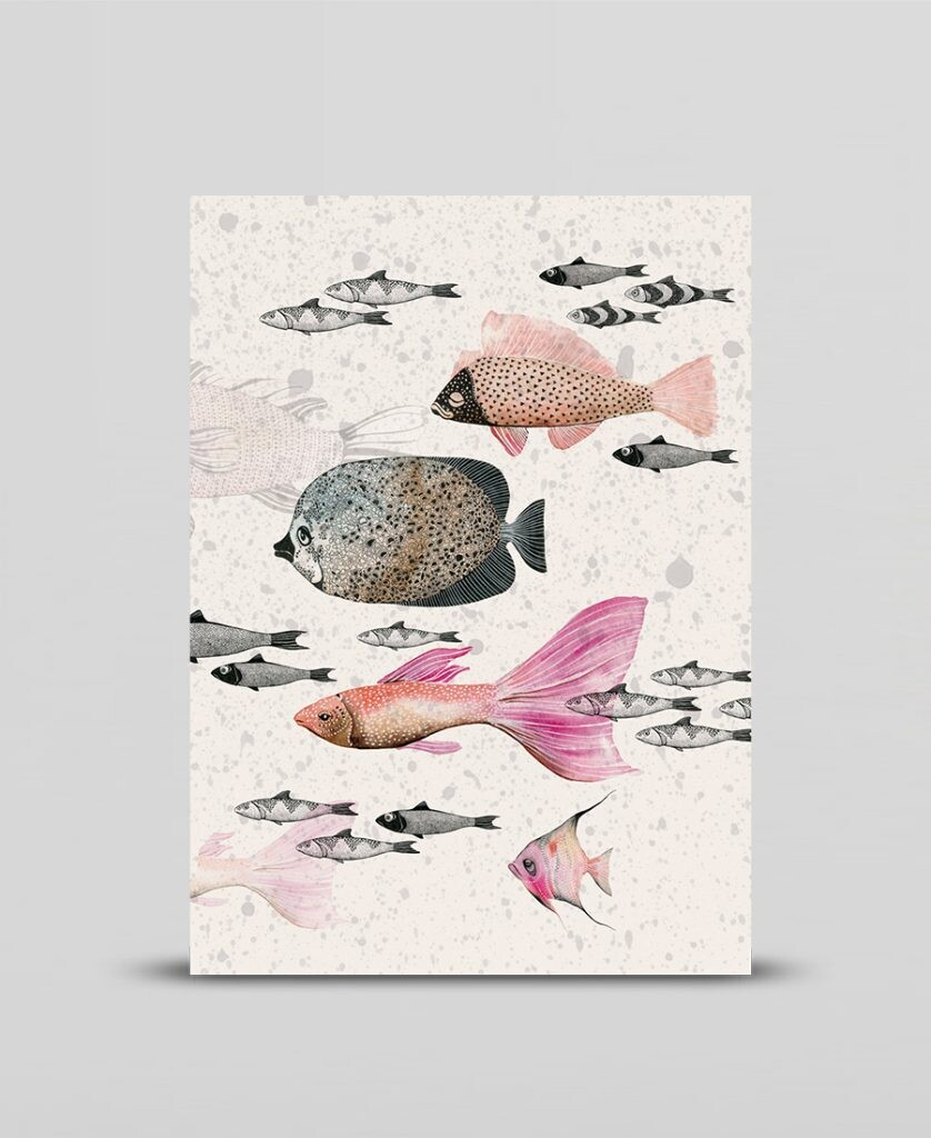 Mini print Deep sea