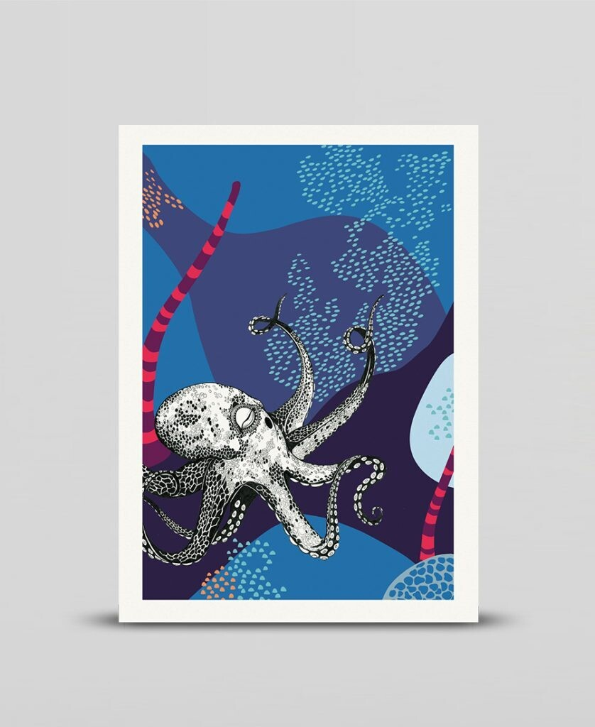 Mini print Galapagos