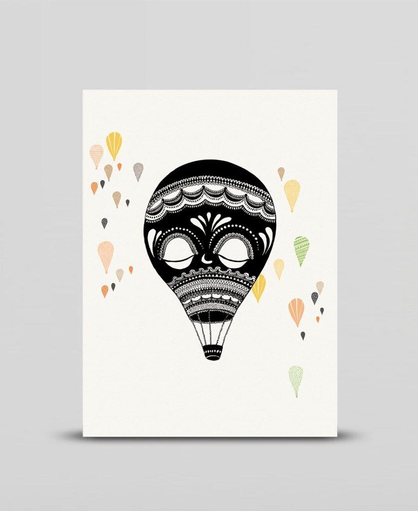 Mini print Balloon