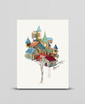Mini print Houses
