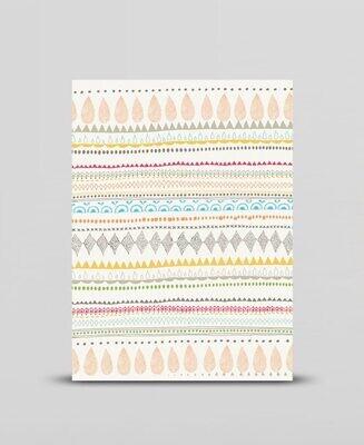 Mini print Folk pattern