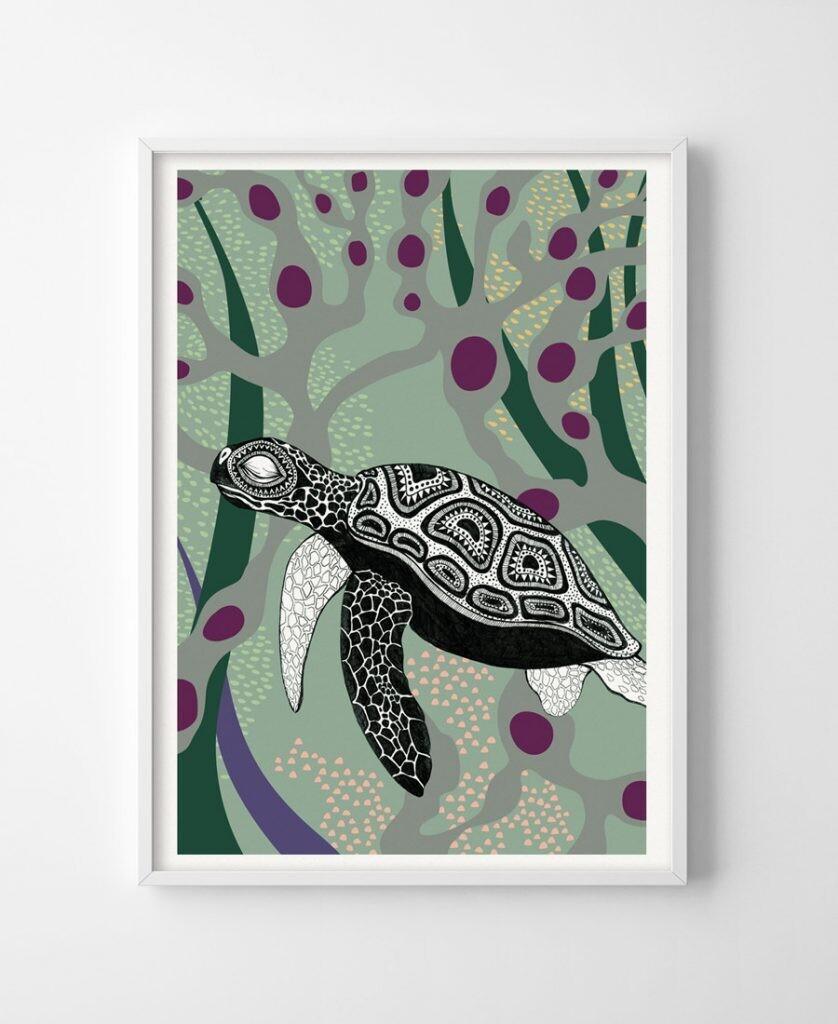 Poster Tortuga