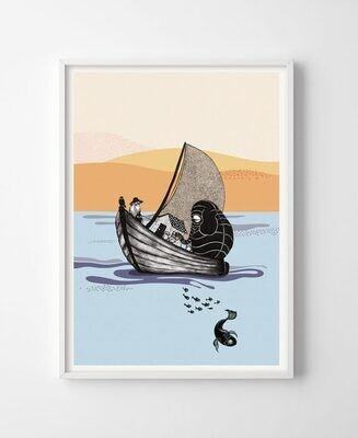Poster The boat