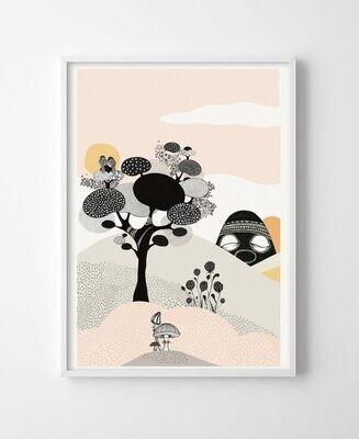 Poster Talking tree