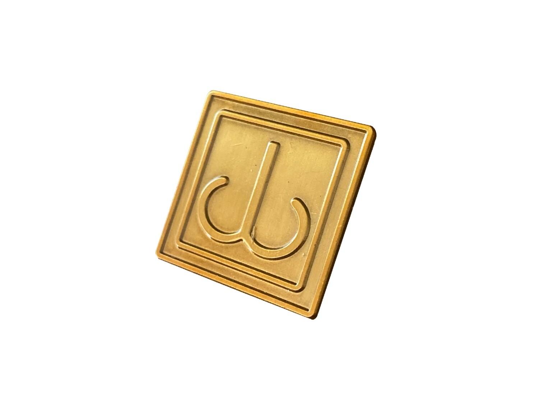 JB Logo Pin (1x1 in. metal)