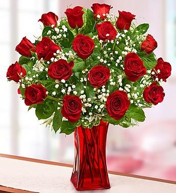 Blooming Love - Premium Red Roses