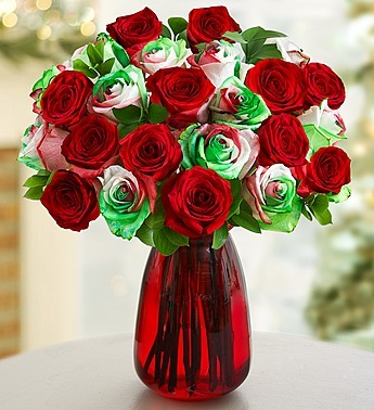 Christmas Kaleidoscope Roses