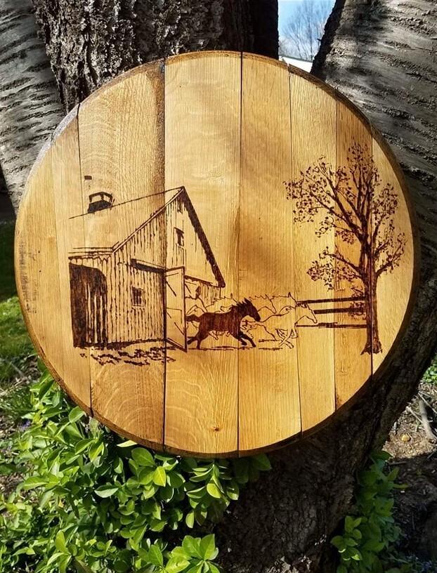 Horse Lovers Barrel Top