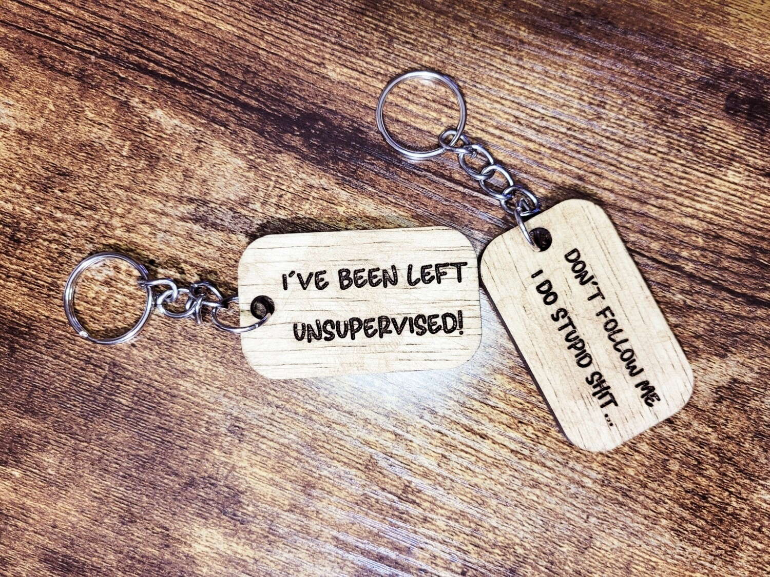 Don't Follow Me / Unsupervised Keychain