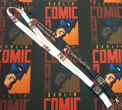 DCC Lanyards (Black or White) (Dublin Stock)