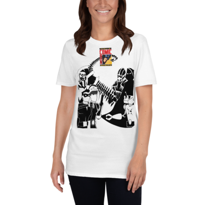 DCC Cartoon Logo - Short-Sleeve Unisex T-Shirt  (EU Stock)