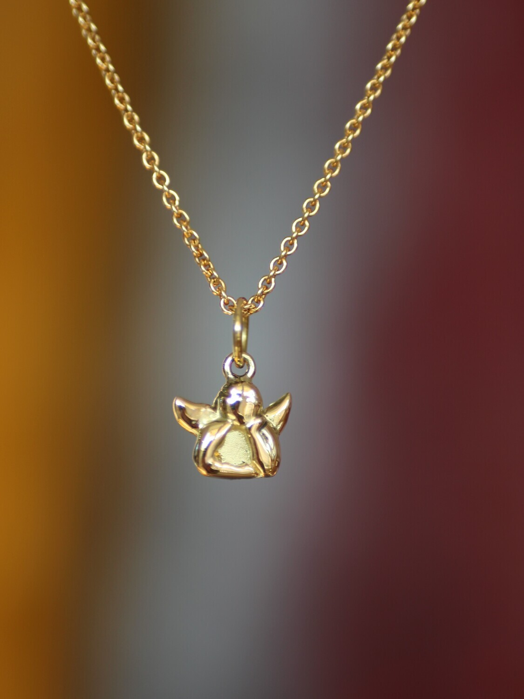 Kettenanhänger SCHUTZENGEL in Form eines Engelchens für Damen