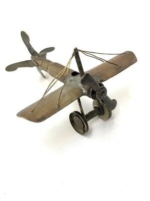 Flugzeug Trench art WWI Patronen Messing um 1914- 1918
