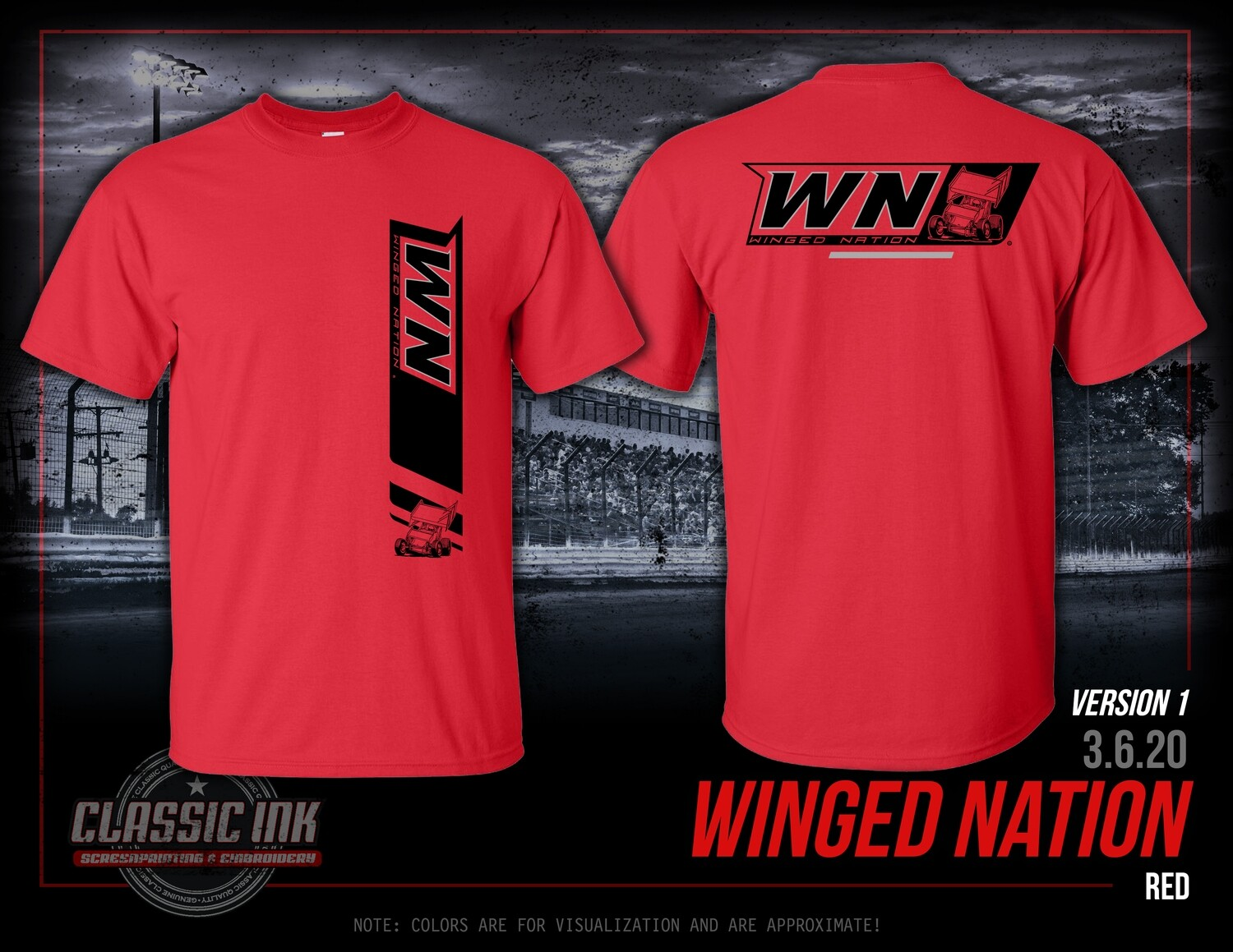 2020 Winged Nation Simple Trend
