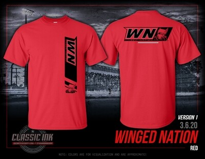 2020 Winged Nation Simple Trend - TWO COLORS AVAILABLE